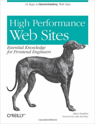 High Performance Web Sites: Essential Knowledge for Front-End Engineers